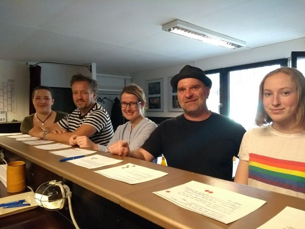 Die Jury (Foto: Ulla Wacker)