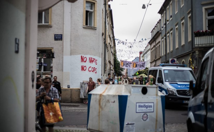 No nazis. No cops. BRN 2019 Foto: Øhyvind Photography